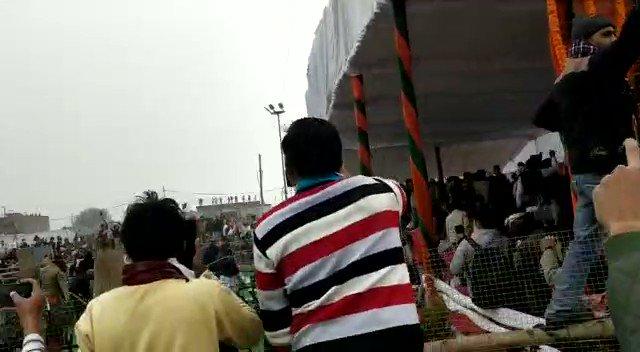 करनाल में किसानों के हंगामे के बाद हरियाणा के CM मनोहर लाल खट्टर का दौरा रद्द। समारोह पंडाल तहस नहस ..