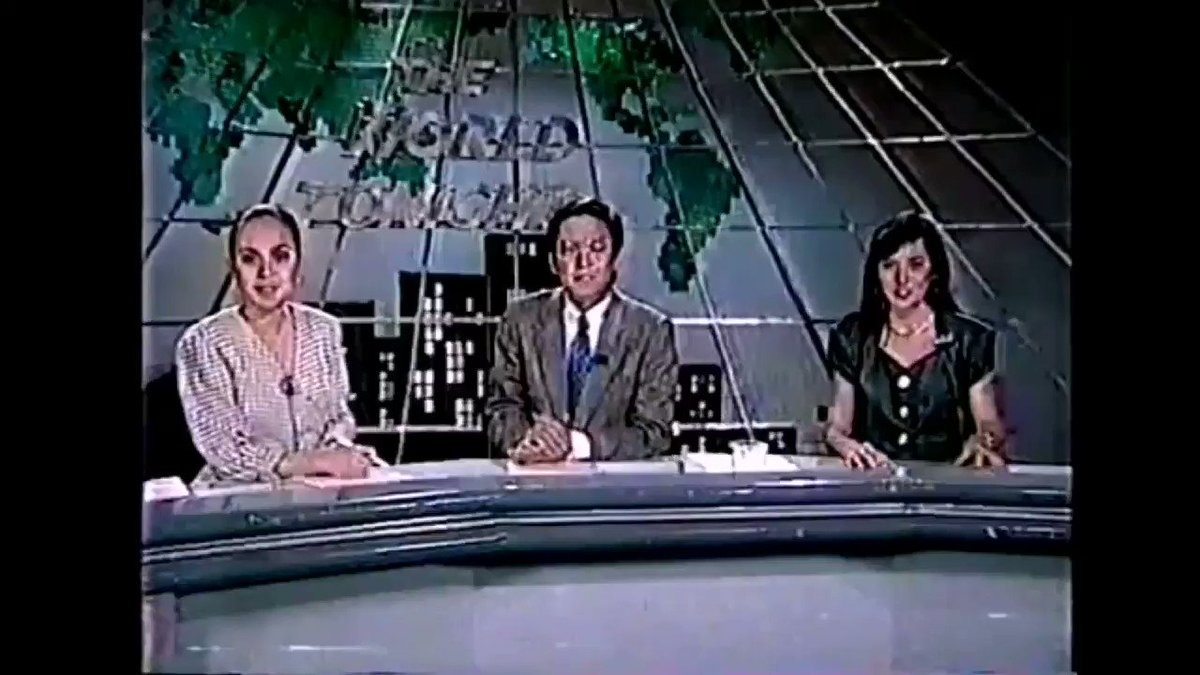 """Understated yet dignified, The World Tonight's extro is as iconic as the newscast--reflecting its evolution through the years.  Beginning 2021, TWT closes w/ an additional word:  """"FROM the Philippines, thank you. Mabuhay!""""  @KakanTuring @iamkarendavila"""