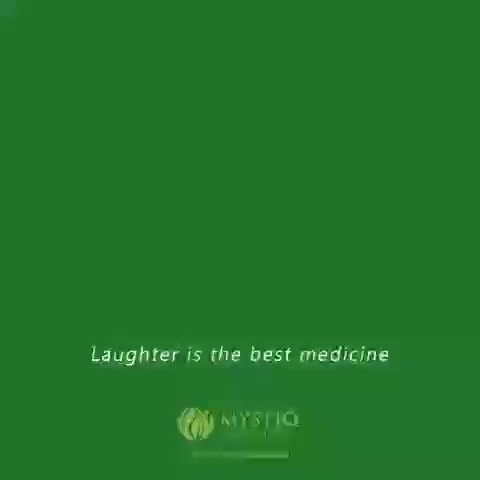 At the height of laughter, the universe is flung into a kaleidoscope of new possibilities. There is one think which surely helps in making your day happy is good health.  #laughterday😂  #worldlaughterday  #laughter  #bestmedicine  #goodhealth  #mystiqnature  #tulsi
