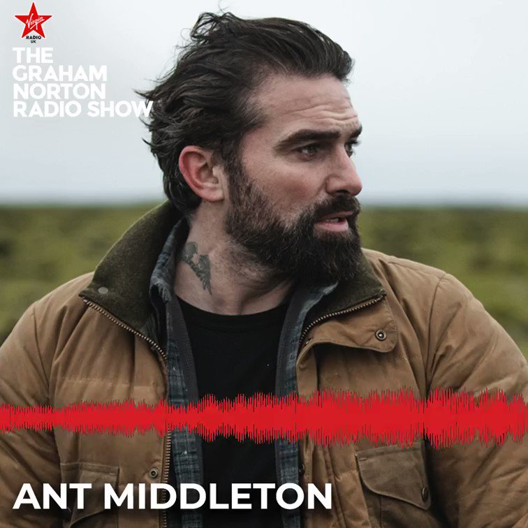 TV's tough man @antmiddleton joins forces with @rebelwilson in his new show Ant Middleton & Rebel Wilson: Straight Talking this Thursday at 9 PM on Sky One! 📺  #TheGrahamNortonRadioShow