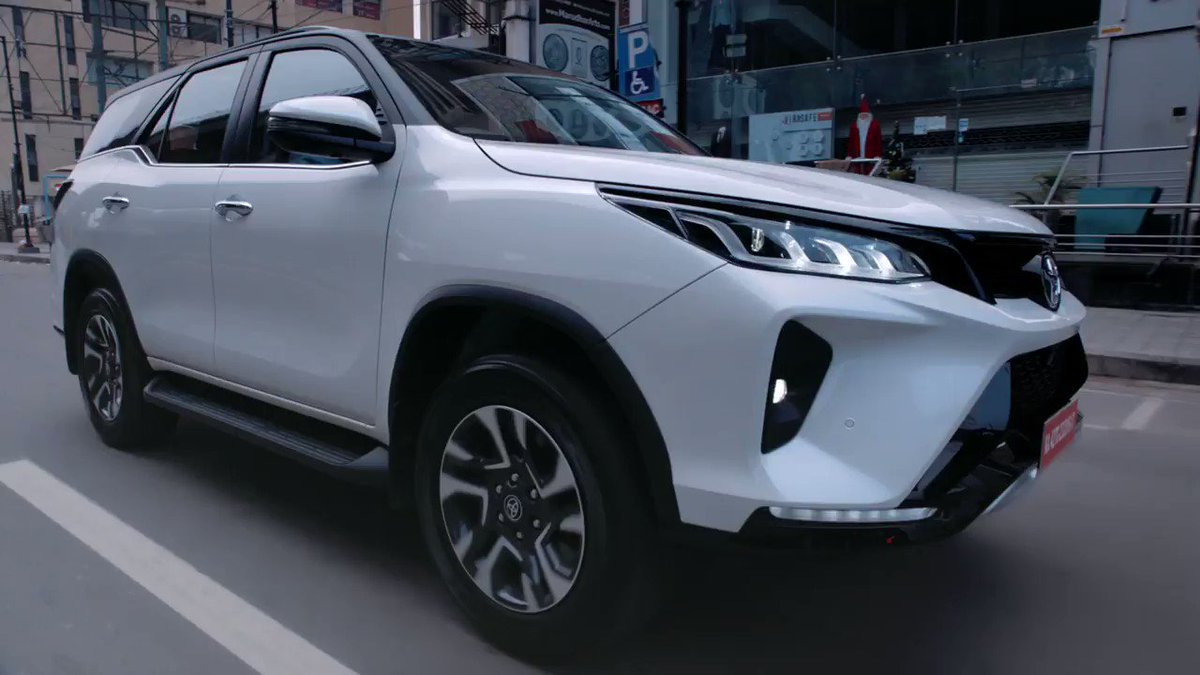 The new Legender and Fortuner are designed to command. Flaunting a formidable front grille and impressive alloy wheels, they exude style on any terrain. E Book now! Visit: https://t.co/0BFxesNyUY  #PoweredInStyle #PowerToLead #NewFortuner #Legender #Toyota #ToyotaIndia https://t.co/bMa1pe0LVX