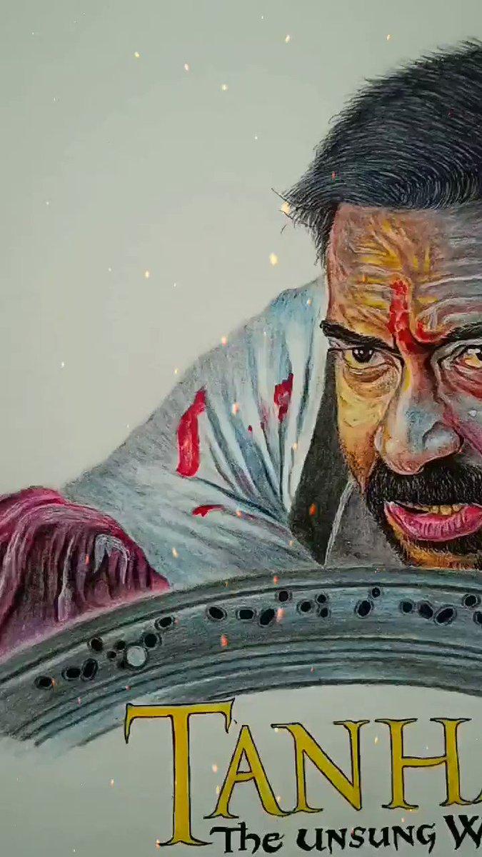 Ra ra ra ra ra ra..........! 🔥  Jai Shivaji Maharaj 🙏🇮🇳  1 YEAR OF HISTORIC TANHAJI ! 🧡🚩 @ajaydevgn Sir⭐ @omraut  #1YearOfTanhaji