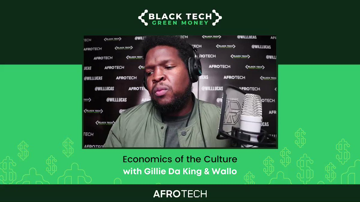Gems on gems on gems from @gilliedakid + @Wallo267, hosts of @mworthofgame 💎  The duo sat down with our very own @will_lucas and discussed authenticity on social media & more on the latest episode of #BlackTechGreenMoney 🙌🏾⠀  🎙️ Listen now: