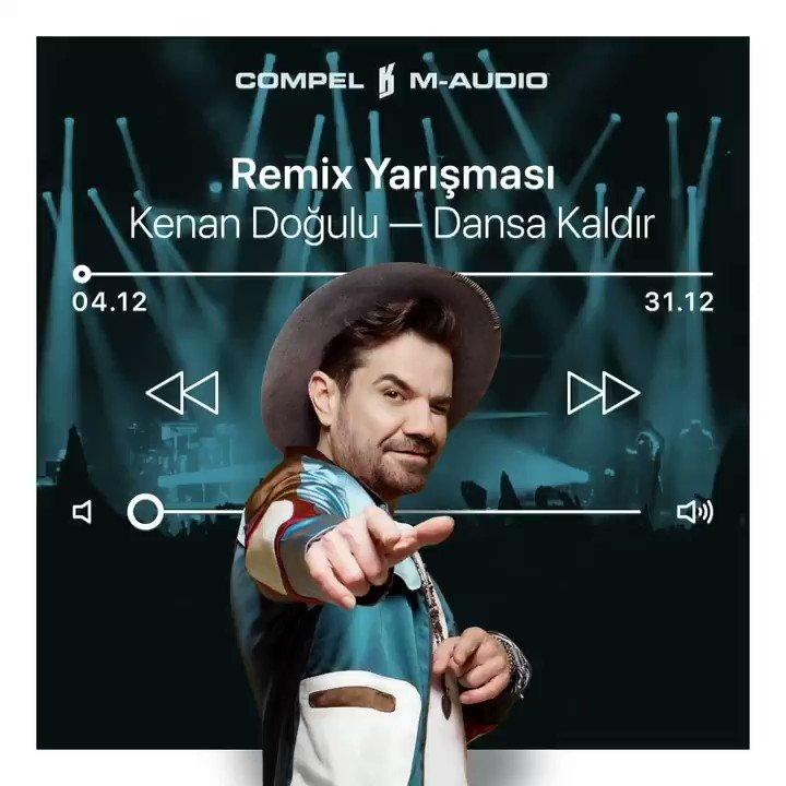🕺🏻 @M_Audio_'nun desteğiyle düzenlediğimiz @kenandogulu Remix Yarışması'nı kazanan Selim Aysan, 2. Ahmet Emir Batkan, 3. Batuhan Dönmez ve jüri özel ödülünü kazanan Fatih Öz ve Sercan Budak'ı tebrik ederiz 👏😊 #Compel #KenanıDansaKaldır