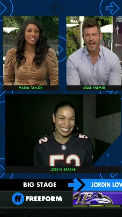 'Well, at least one of us made it to the Super Bowl.' 😂😂 @JordinSparks' daddy got jokes! #SuperWildCard