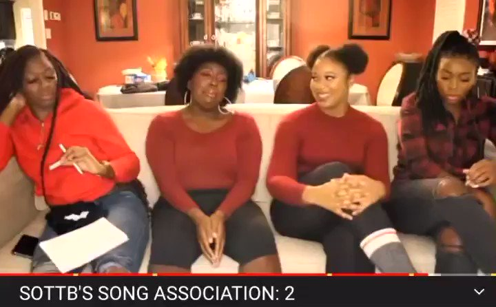Check out Our New Video Song Association:2!! We love playing this game 🤣🤣  ⬇️⬇️⬇️⬇️⬇️⬇️    #SOTTB #SONGASSOCIATION #MUSIC #BLACKGIRLS #COMEDY #HIPHOP #POP #REGGAE #SOCA #SINGING #KPOP #THROWBACKS #H1GHRMUSIC #ladygaga #jaypark #kellyrowland #naturalhair