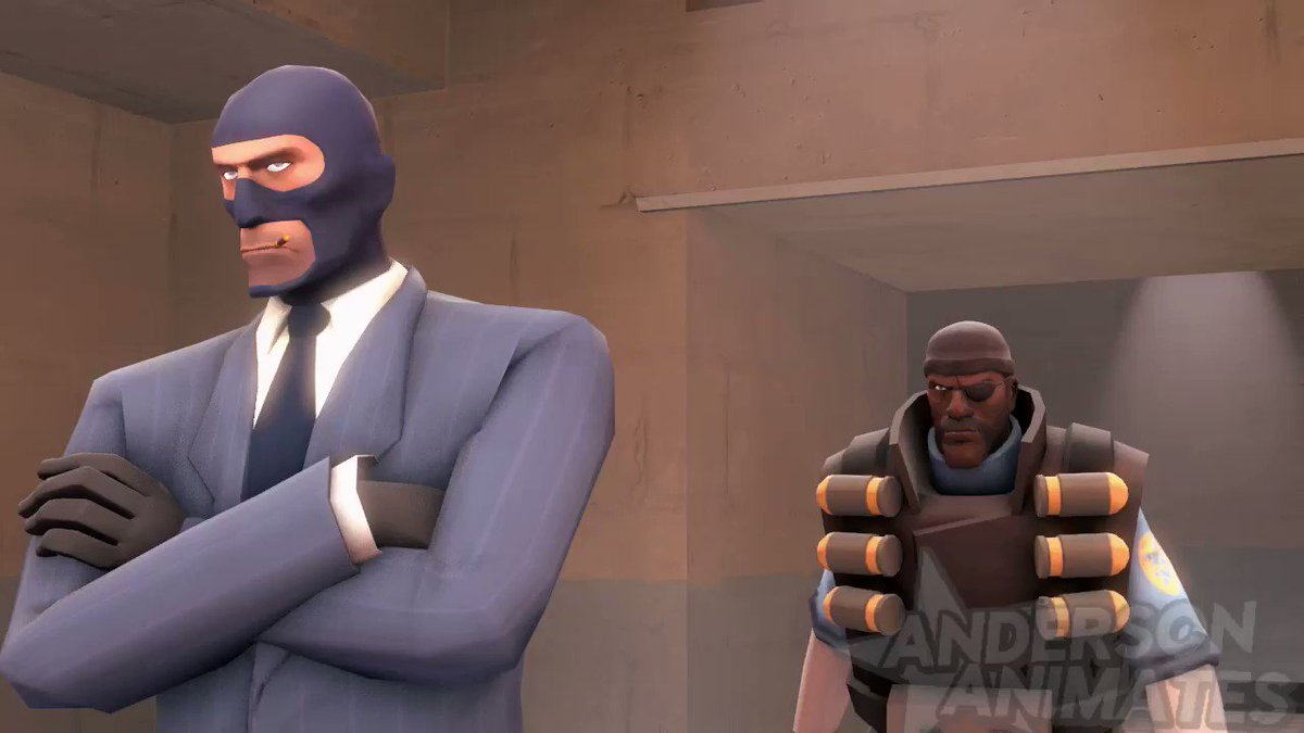 Spy is a furry.  Audio from:  & @Piemations  Spy furry drawing: kenket  { #sfm #tf2 }