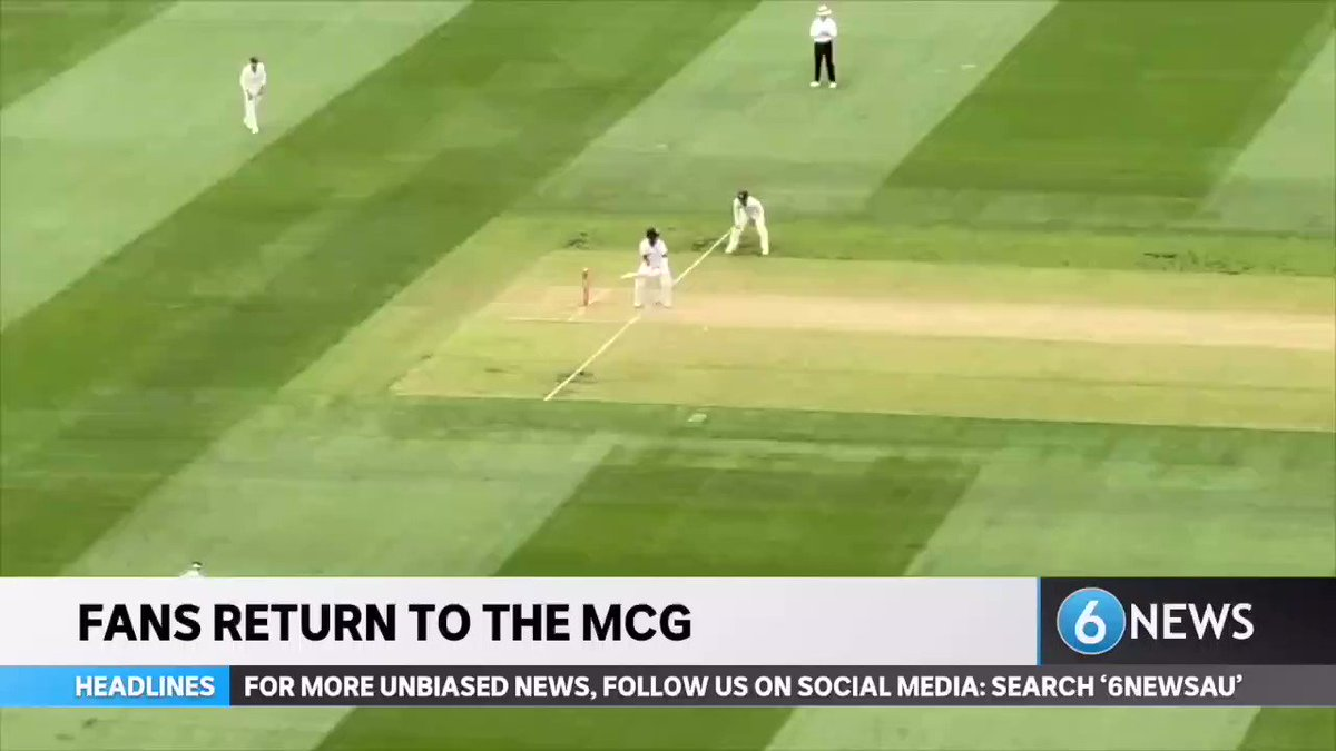 #WATCH: We went inside the MCG for the annual Boxing Day test, a match many thought wouldn't happen due to the COVID-19 Pandemic.   MORE DETAILS:   #6NewsAU #MCG #BoxingDayTest #AUSvsIND
