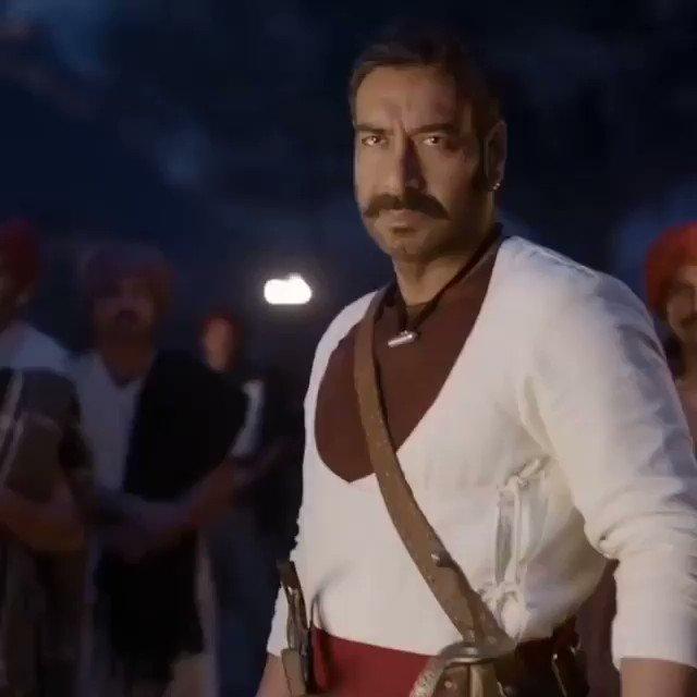 Mass Maharaja @ajaydevgn #1YearOfTanhaji Biggest Blockbuster in 2020 ✊