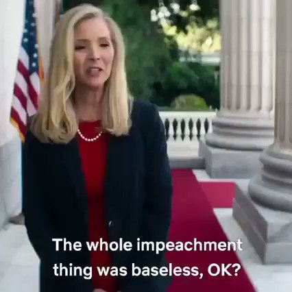 Replying to @VladaKnowlton: This video of Lisa Kudrow channeling Kellyanne Conway Keighley McEnany Sarah Huckabee is so good.