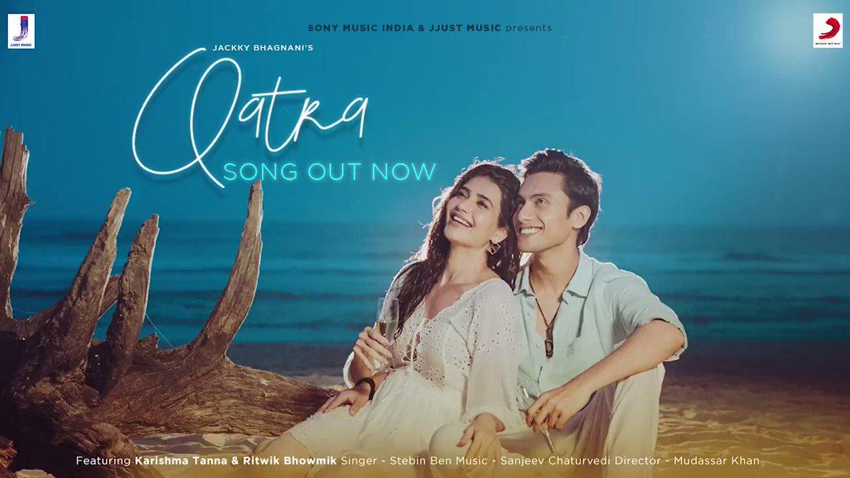 Expressing love couldn't be easier. The language of love #Qatra is finally out now.  Watch the video here:   @karishmak_tanna @ritwikbhowmikk @stebinbenmusic @Sanjeevcomposer @mudassarkhan1 @jackkybhagnani @jjust_music