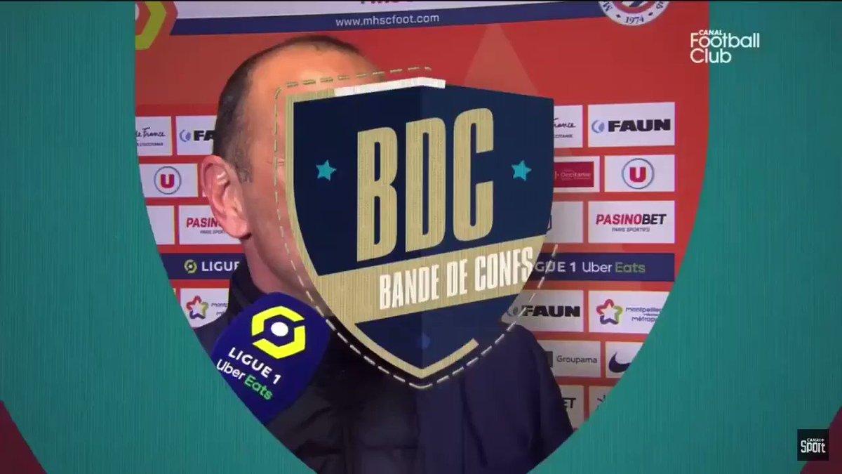 Au delà de la blague, on rappellera que Domenech est le Président de l'UNECATEF, syndicat des entraîneurs français. C'est dire le respect qu'il inspire à ses «pairs»...   https://t.co/UTxV2C41IN
