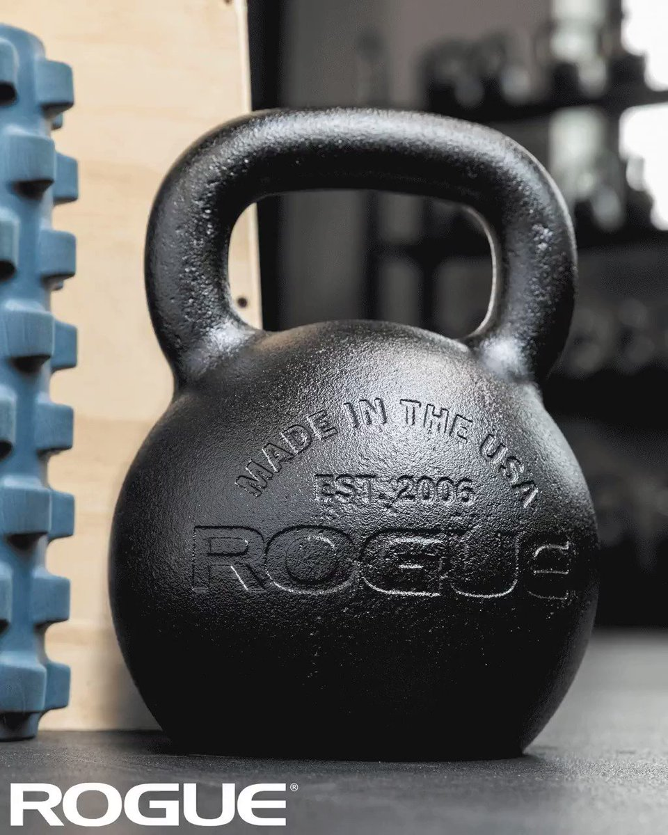 Is your lineup complete? #ryourogue  Shop American Made Rogue E-Coat Kettlebells: