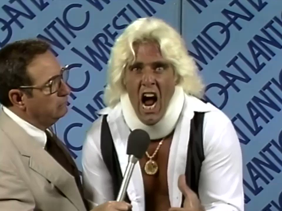 So You Want To Be Like The Nature Boy??? WOOOOO! #MondayMotivation
