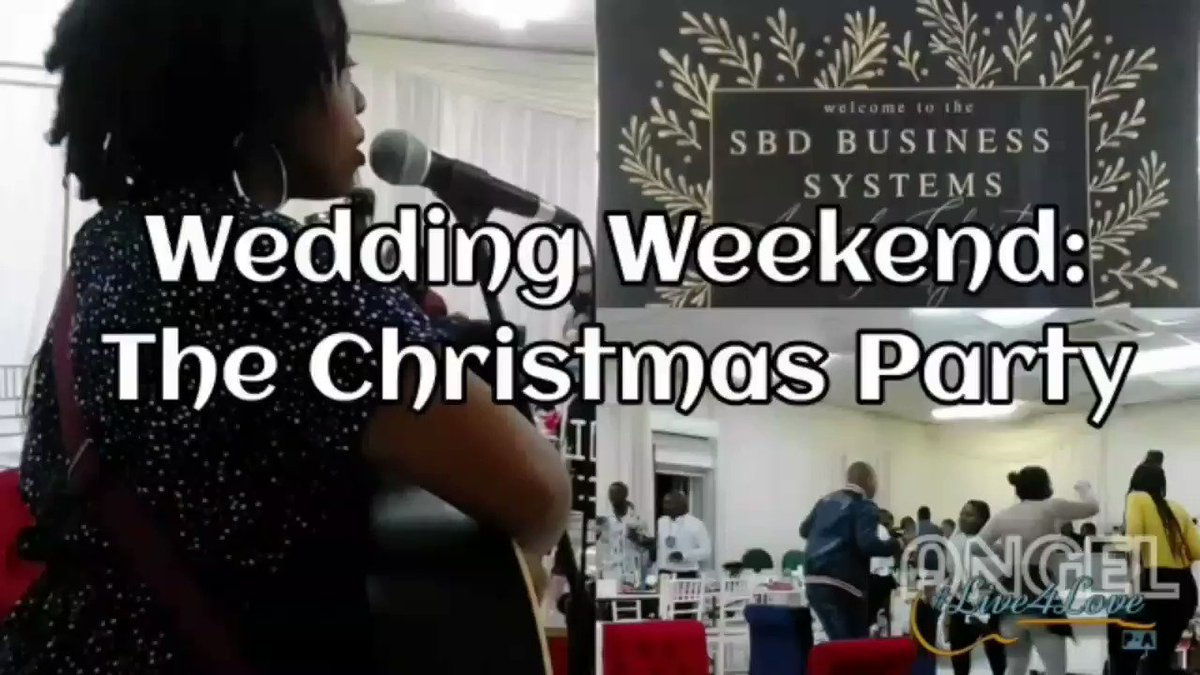 "New Vlog Alert!!!  Join me gigging during the festive season in a four part series titled ""Wedding Weekend"" which started today.  I hope you enjoy and also if you find yourself on my channel, please don't forget to like and subscribe 😊  Link:    #Live4Love"