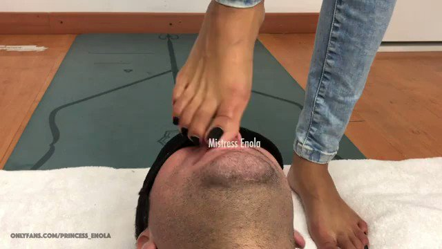 More of my Content is Selling! ENOLA - DARK REVERSE AND FORWARD CHALLENGE - EXTREME foot gagging https://t