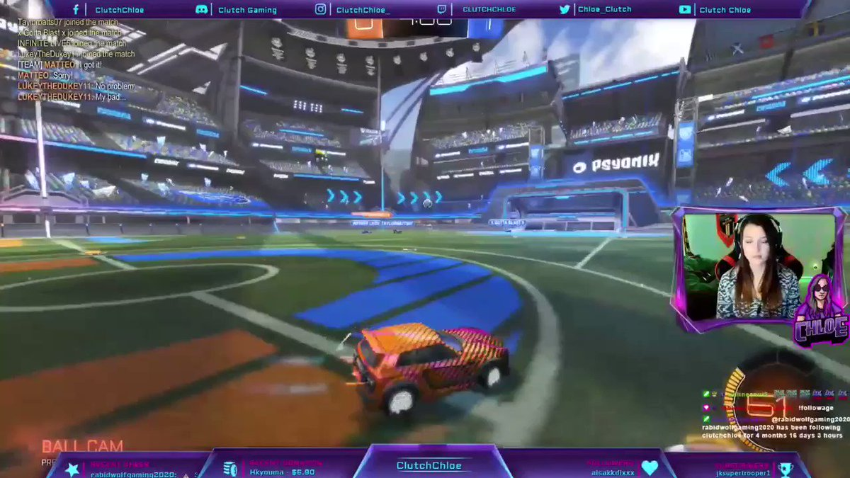 In case you missed the stream Saturday, I'm back & with some new aerial skills under my belt! 🚀 The welcome back from the community was unreal and I can't wait to see you all tomorrow for more #RocketLeague!   #TwitchStreamers #SmallStreamer #Gamergirl #Xbox #Gamer #Twitch