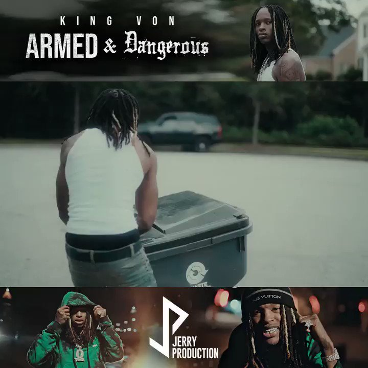 Replying to @KingVonFrmdaWic: Armed & Dangerous out now