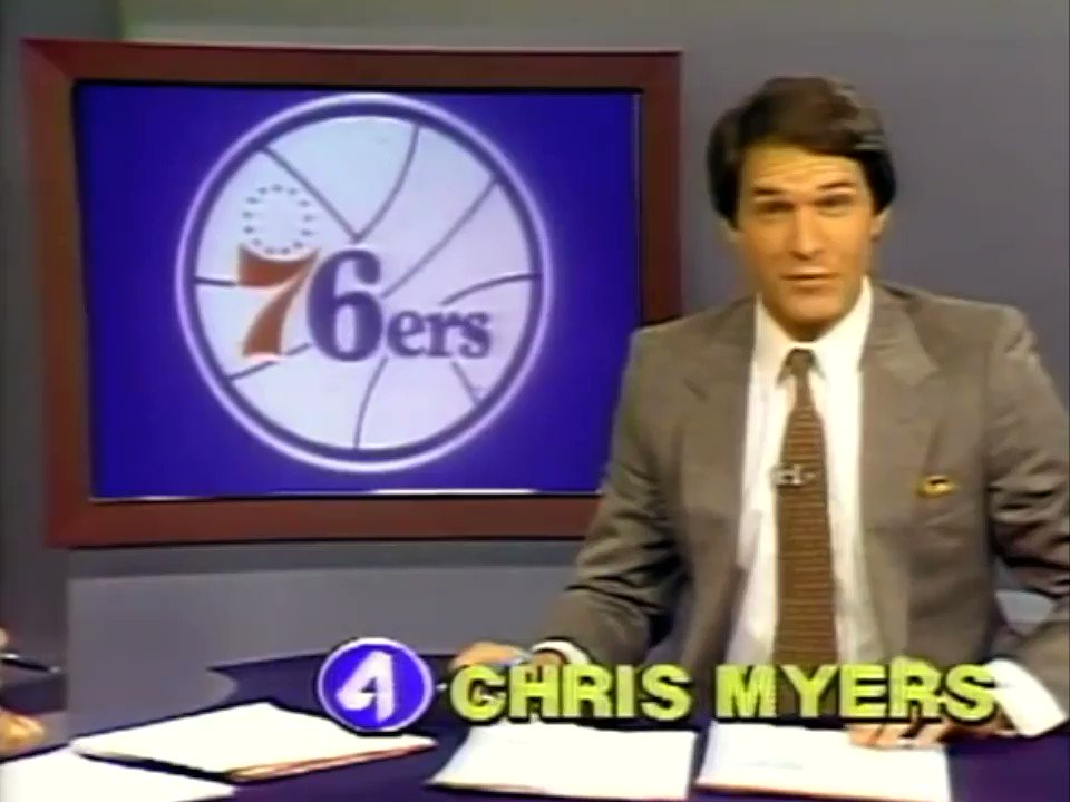 "January 17, 1982 highlights from the Nets' 105-97 win over the 76ers, courtesy of WTVJ Miami's ""News Weekend"" and @The_ChrisMyers.  📼"