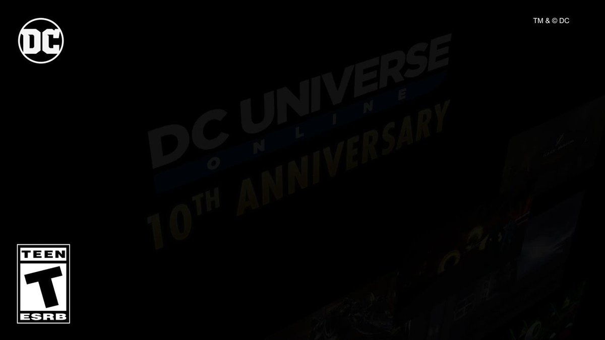 10 years of fighting alongside @DCComics most iconic heroes, saving the world, and standing together.   Thank YOU for joining us on this wild adventure. #DCUO #10thAnniversary