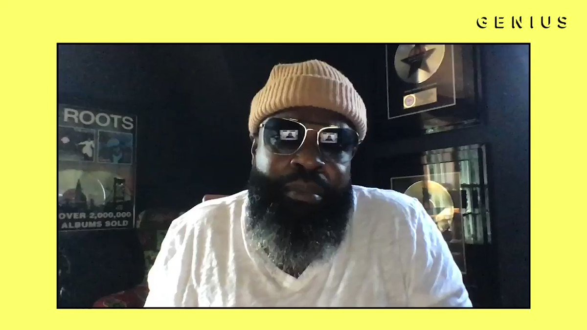 "I spoke w/ the great @blackthought, the big homie in The Smithsonian, about ""Magnificent"" for the latest episode of ""VERIFIED.""  He is a living legend and I'm glad we were able to break some bars down. A true inspiration, a real honor.  Full episode:"