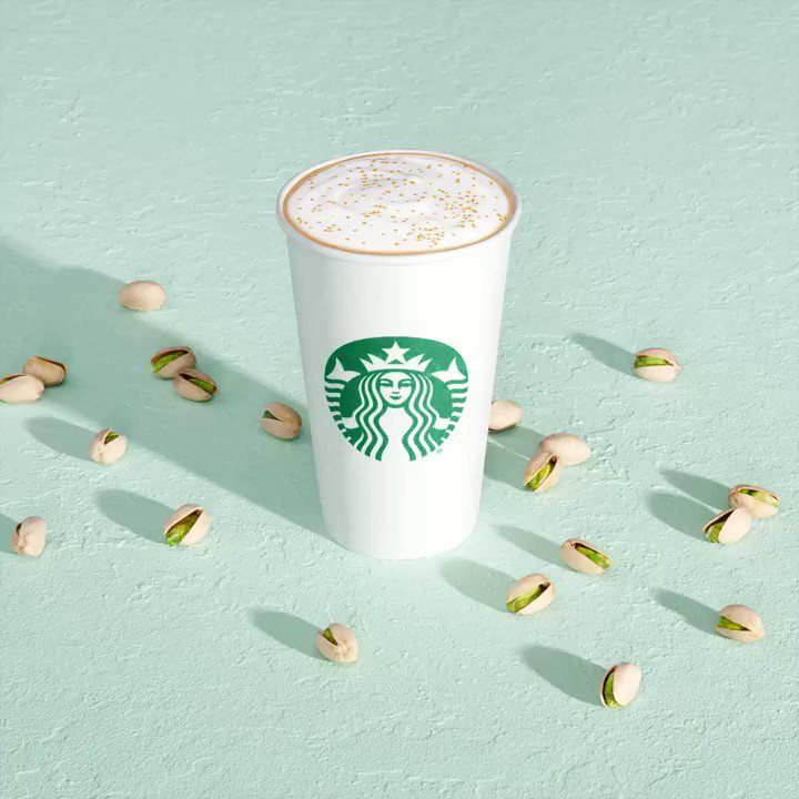 Because there's always time for some you time, the new Pistachio Latte is perfect any time of day. 💚