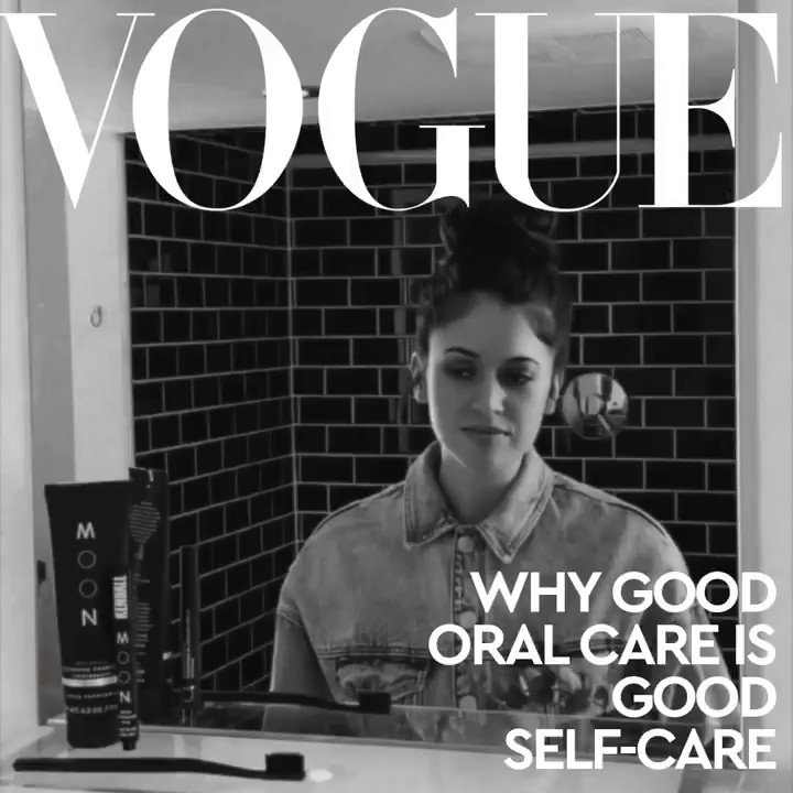 The question everyone should know the answer to. 🖤 Click here to read on how to elevate your oral beauty on @voguemagazine featuring MOON: