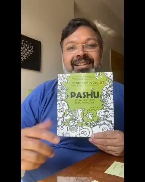 This weekend! Join us on Saturday the 16th of January at 6 pm as @devduttmyth conducts a special session for children at @StorytellerKol ! Register here -  #DevduttMyth #DevduttPattanaik #ChildrensBooks @whoseesitall