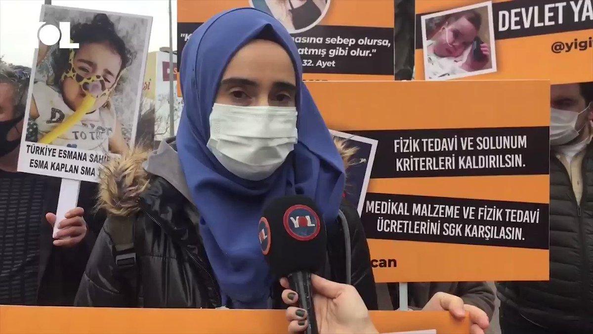 """SMA hastası çocukların aileleri Ankara'da: """"Evlatlarımız can çekişiyor, nefeslerini sayıyoruz. Eve gidince çocuklarımızı görebilir miyiz bilmiyoruz""""  Bakan Koca SMA'lı çocuklar için başlatılan kampanyaları 'kirli' olarak nitelendirmişti, aileler basın açıklaması gerçekleştirdi"""