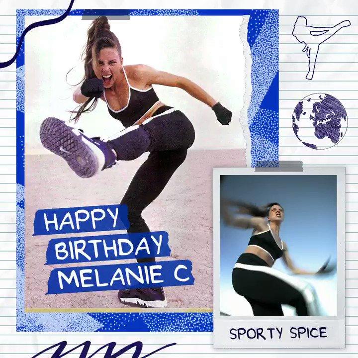 💙⚽️ Happy birthday Sporty Spice (@MelanieCmusic) ⚽️💙