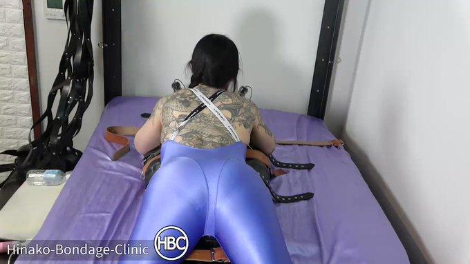 Complete Bondage Pussy Worship; Leather Rest Sack Bondage and Face Sitting レザースリープサック拘束強制おまんこ奉仕💦💦  https://t