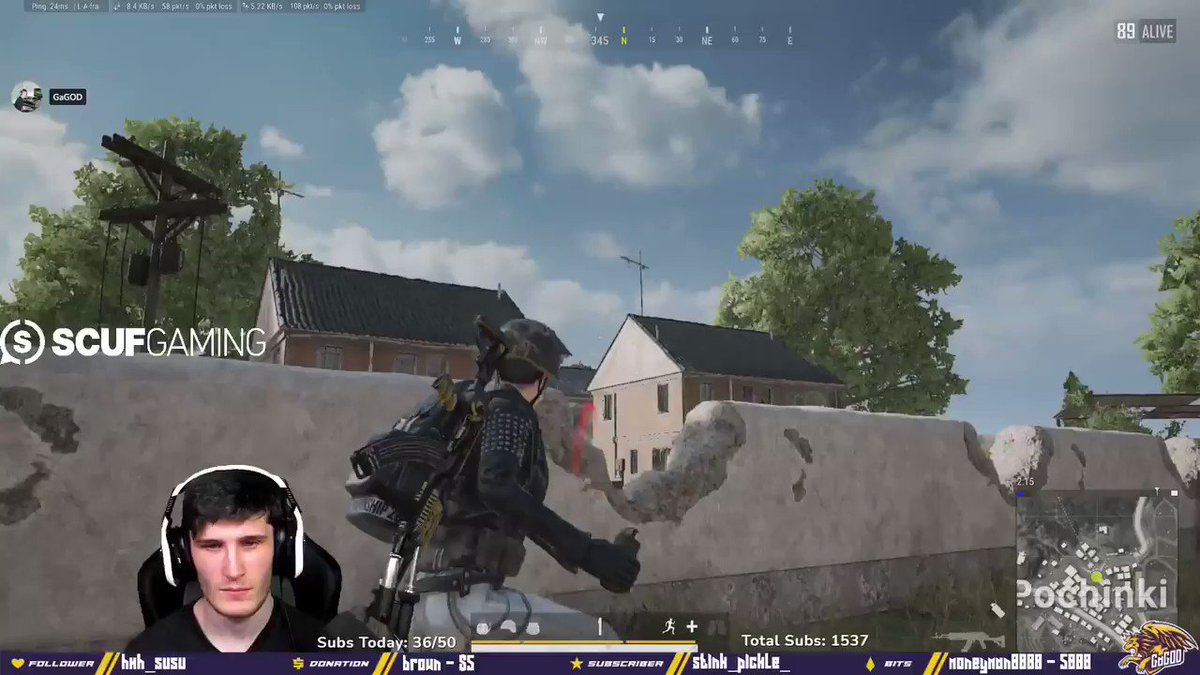 GaGOD - I might have noodle arms but im certainly BUILT DIFFERENT 🔥   #PUBG #twitch #battleroyal