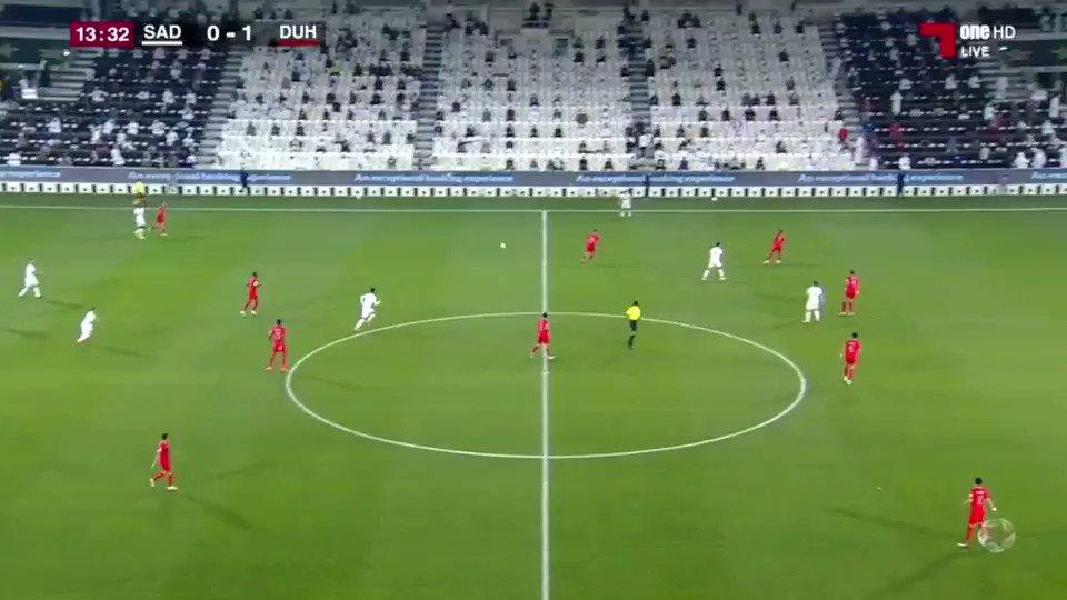فيديو هدف السد الاول عن طريق اللاعب بغداد بونجاح السد ١ ١ الدحيل دوري نجوم QNB