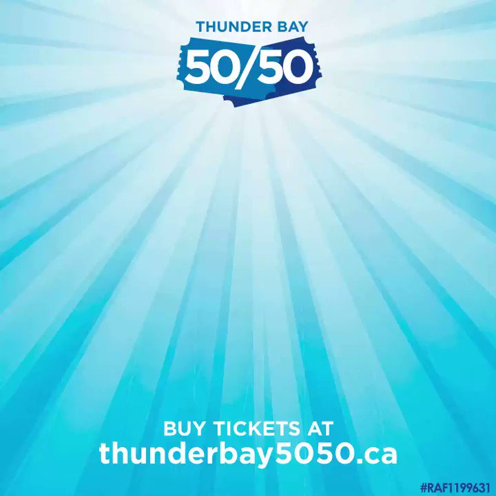Introducing the Thunder Bay 50/50 – your chance to win BIG every month! 💰  Tickets are $10 for 5, $20 for 30, and $50 for 150, all in support of better local healthcare.  Buy yours at !