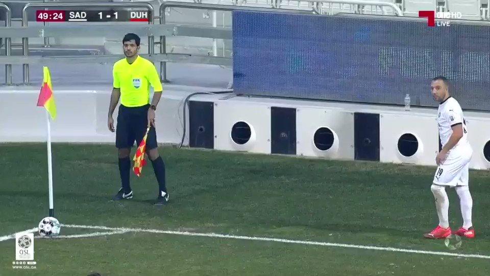فيديو هدف السد الثاني عن طريق اللاعب بغداد بونجاح السد ٢ ١ الدحيل دوري نجوم QNB