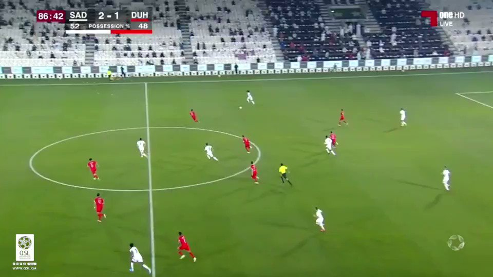 فيديو هدف السد الثالث عن طريق اللاعب بغداد بونجاح السد ٣ ١ الدحيل دوري نجوم QNB