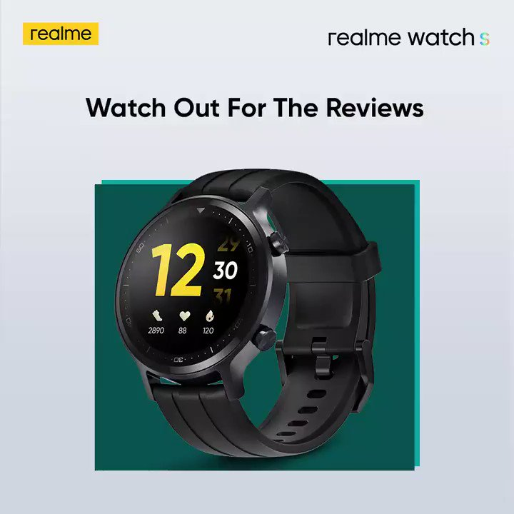 Users love it! Don't miss out on your chance to become #SmarterRoundTheClock with the 'highly recommended' #realmeWatchS.  Starting at ₹4,999. Available on  & @Flipkart. Know more:
