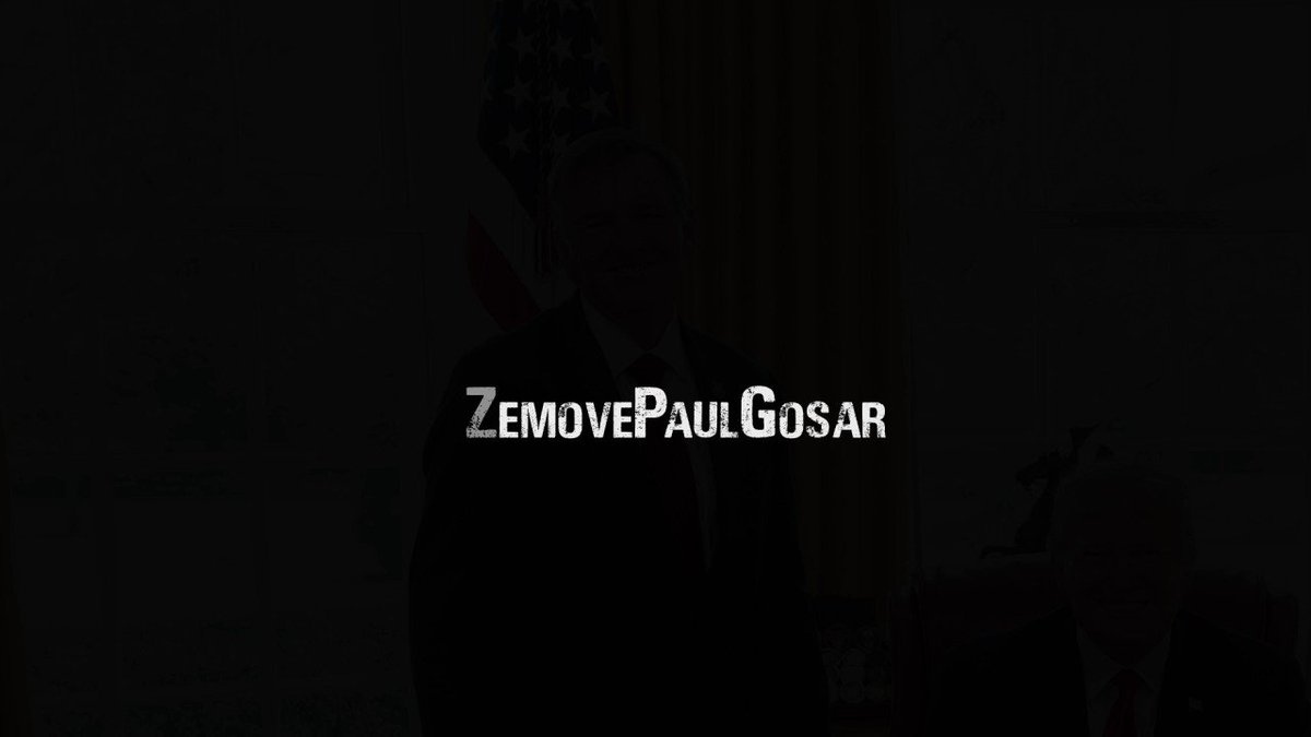 Paul Gosar (R-AZ) was identified as a key planner of January 6th.  His constituents in Prescott, AZ put together this video exposing his sedition.  Please watch & share, from @IndivisPrescott: #DemCastAZ
