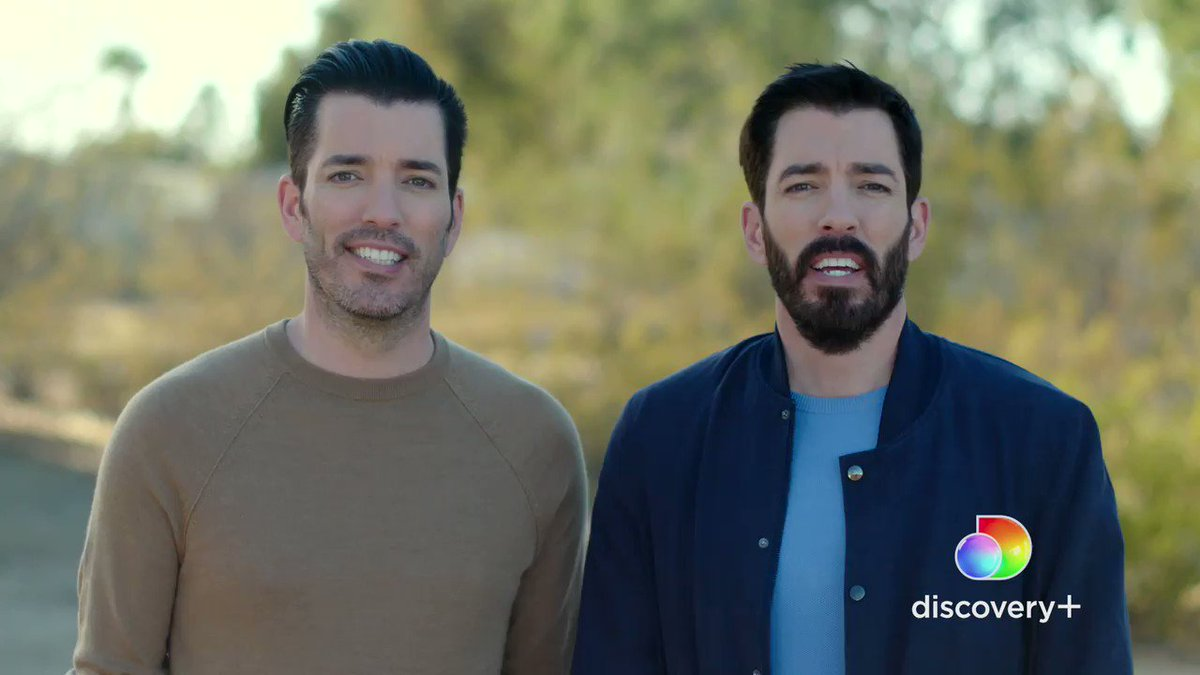 We've got some new neighbors!    Stream a brand new episode of #PropertyBrothers #ForeverHome every Wednesday only on @discoveryplus  #discoveryplus #StreamWhatYouLove @JonathanScott @MrDrewScott