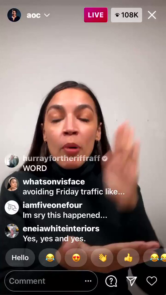 Just watch this whole thing from @AOC.