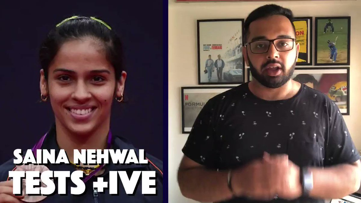 Day 126 - Saina Nehwal Tests Positive for Covid-19 Big news coming in from the 2021 Thailand Open. Watch to find out more! #bwf #thailandopen #thailandopen2021 #covid19 #sainanehwal #saina #nehwal #badminton #indianbadminton #sportsnews #indiansports