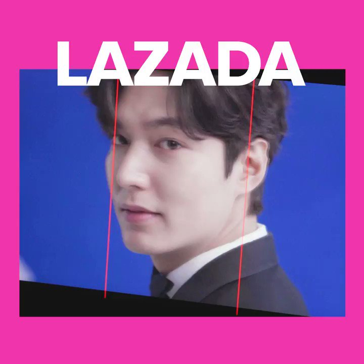 Oppa? #NasaLazadaYan! Here's @ActorLeeMinHo sending good vibes your way 💙✨  Add him to heart, and add to cart everything on your 2021 wishlist! #LazadaxLMH #LeeMinHo #LazadaPH