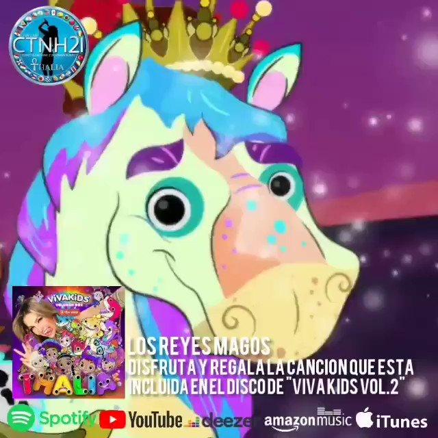 🦋🐥🐠#LosReyesMagos es uno de los temas de @thalia incluido en su nuevo disco infantil #VivaKids2. Mira el video oficial en su canal THALÍA VIVA KIDS ➡️   🎧🐢🧙♂️Disponible   ✔️iTunes ➡️   ✔️Mixup en Línea ➡️