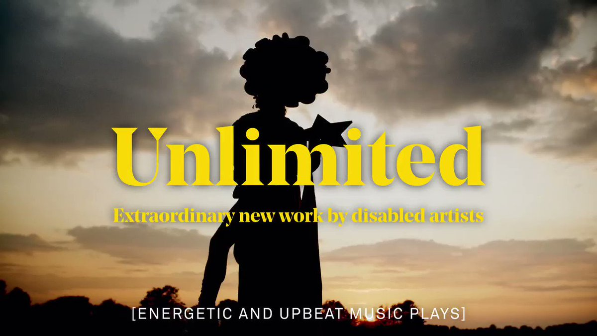 The @southbankcentre's fifth Unlimited festival of dance, performance, comedy, music and visual art is moving online!  Watch outstanding art from disabled artists and companies 13-17 January #UnlimitedFest @weareunltd https://t.co/QOcaDcLXls https://t.co/YSFOBOuE89