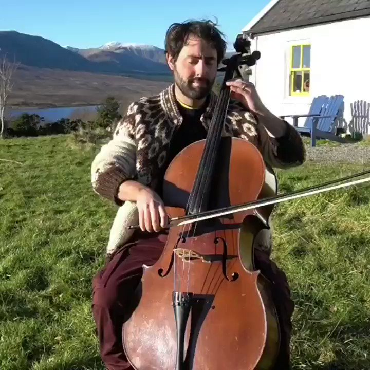 A brief break in the clouds today for some mid-week Bach. Prelude from Cello Suite No. 1