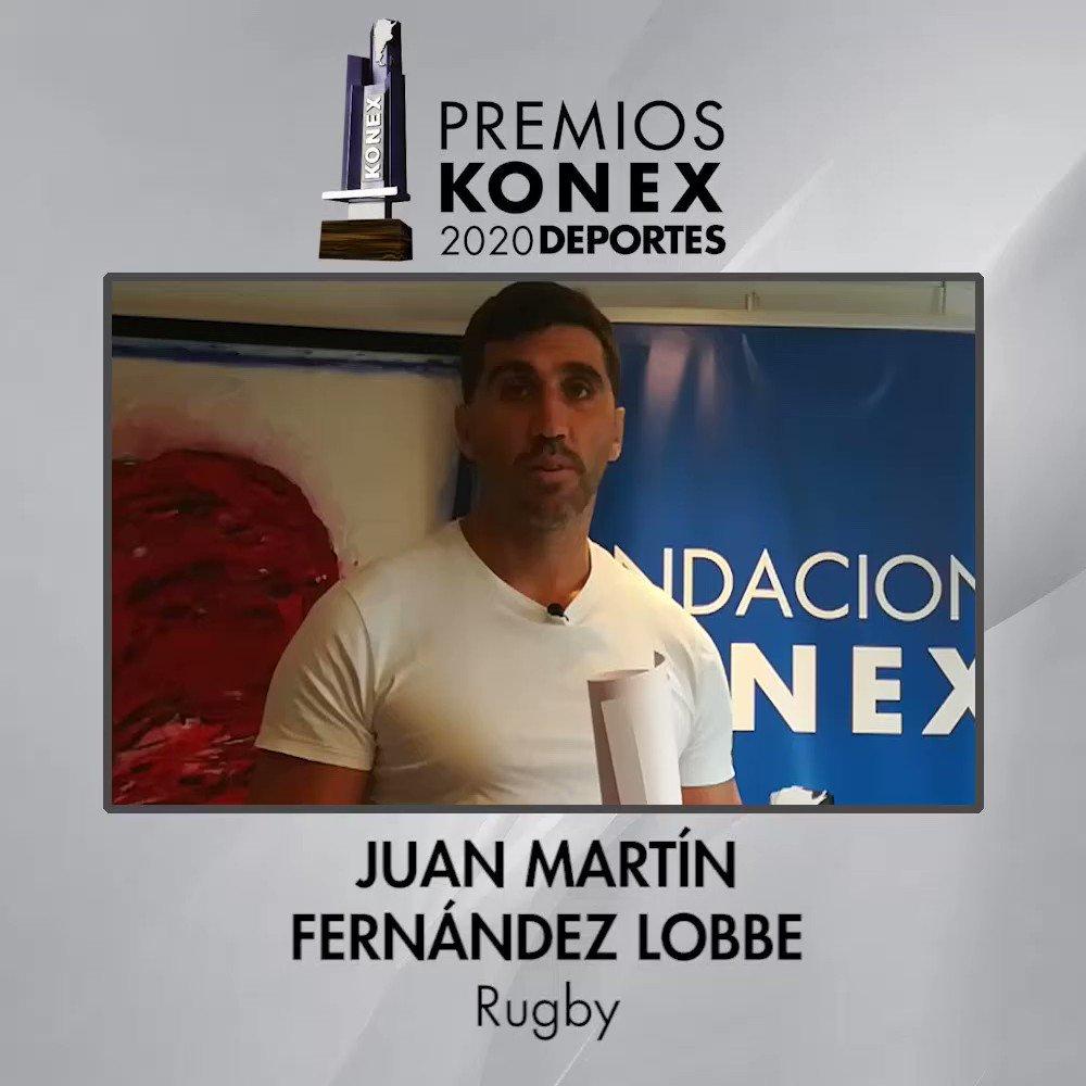 🏉 Juan Martín Fernández Lobbe obtuvo el #PremioKonex 2020 en la disciplina #Rugby como uno de los mejores de la última década en la #Argentina.   🏆Compartimos sus palabras tras recibir el Premio Konex.  Aquí su biografía en nuestra web 👇   #Pumas