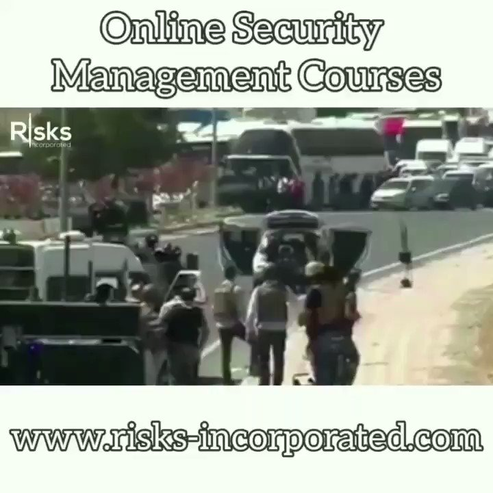 English #Police Video Tweets – Online Security Management Courses @   – Threat Assessments – Terrorist Attack R…