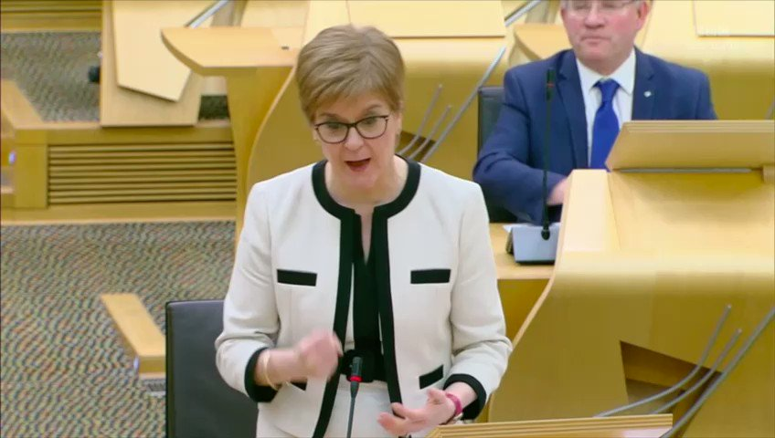 Strong words of support from @NicolaSturgeon @theSNP @GavNewlandsSNP against the #fireandrehire been used on @BritishGas @centricaplc workers #StopTheBritishGasFire #AskBritishGas https://t.co/ux0J6wjlvS