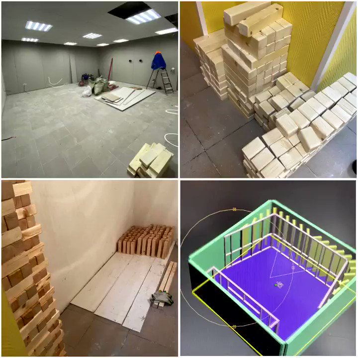 Foley control room building in progress  #protools #nuendo #foleystudio #postproduction #filmmaking #audiopost #foley #audiopostproduction #sounddesign #foleyartist #foleyfirst #soundediting