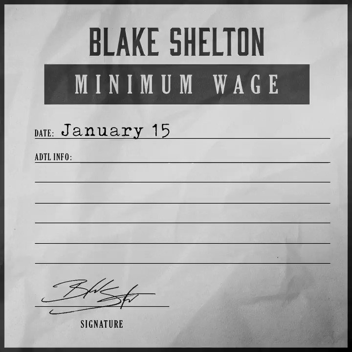 Minimum Wage.. Coming Friday. Pre-save now!
